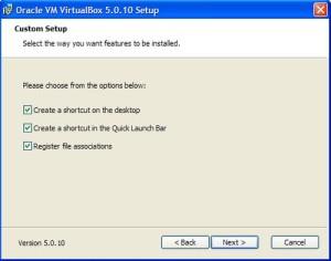 virtualbox процесс установки шаг 3