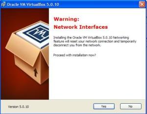 virtualbox процесс установки сетевого подключения