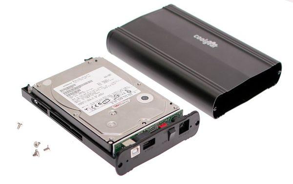 монтаж жесткого диска в usb адаптер