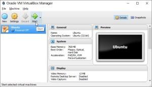 запуск загруженного готового образа Linux в VM