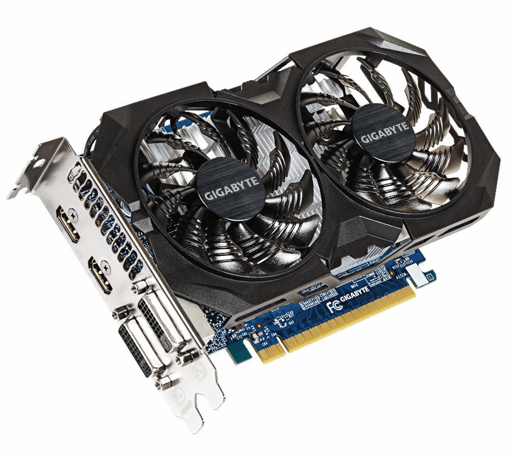 Видеокарта GigaByte GeForce GTX 750 Ti 1059Mhz PCI-E 3.0 2048Mb 5400Mhz 128 bit 2xDVI 2xHDMI HDCP GV-N75TOC2-2GI GeForce GTX 750 Ti