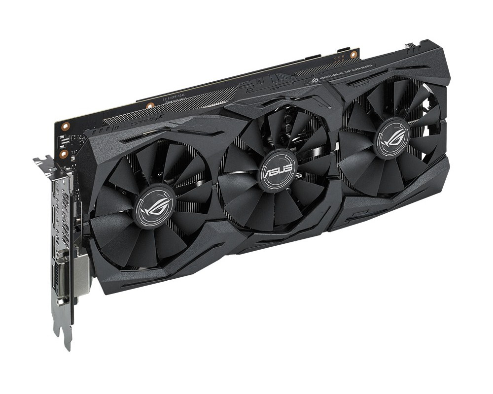 Видеокарта ASUS GeForce GTX 1060 1506Mhz PCI-E 3.0 6144Mb 8008Mhz 192-bit DVI 2xHDMI HDCP STRIX-GTX1060-6G-GAMING STRIX-GTX1060-6G-GAMING