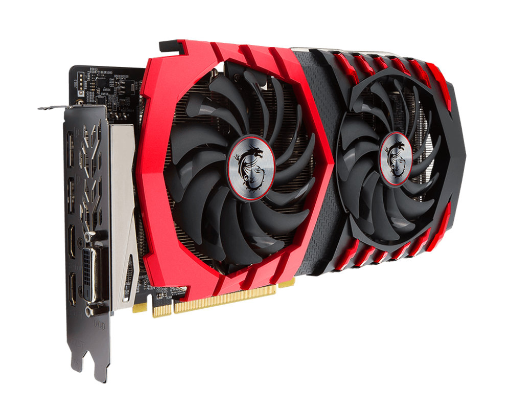 Видеокарта MSI Radeon RX 470 1254Mhz PCI-E 3.0 8192Mb 6700Mhz DVI 2xHDMI 2xHDCP RX 470 GAMING X 8G RX 470
