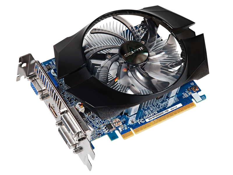 Видеокарта GigaByte GeForce GT 740 1072Mhz PCI-E 3.0 1024Mb 5000Mhz 128 bit 2xDVI HDMI HDCP GV-N740D5OC-1GI GeForce GT 740 1072Mhz PCI-E 3.0 1024Mb
