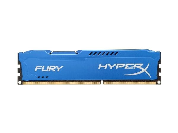 Модуль памяти Kingston HyperX Fury Blue DDR3 DIMM 1866MHz PC3-15000 CL10 - 4Gb HX318C10F/4 HX318C10F/4