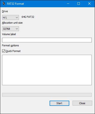 fat32-format